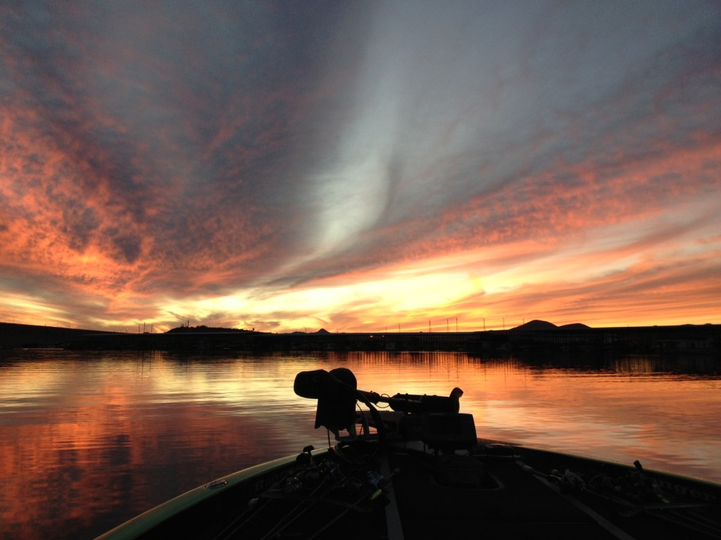 Lake Pleasant Sunset